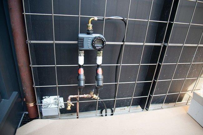 Florafelt Pro System Drip Irrigation Timer Mounting