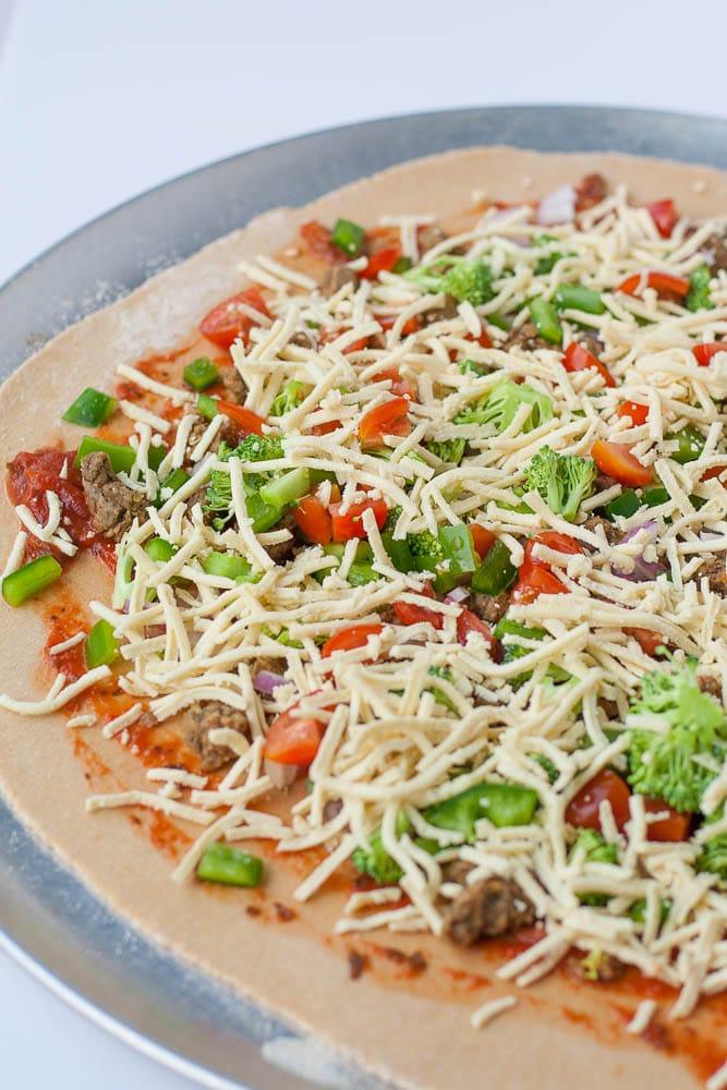 30 minute Whole Wheat Oil Free Pizza Dough!