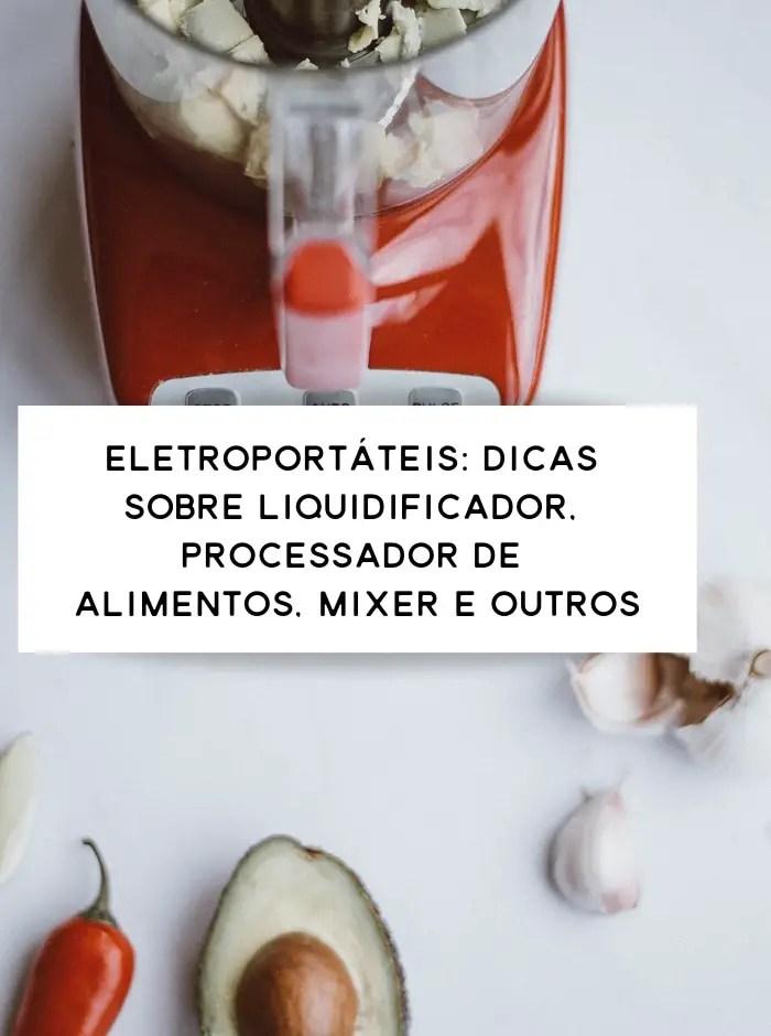 utensílios de cozinha (eletroportáteis)