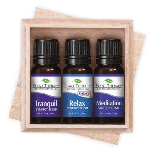 essential oil gift sets relaxation