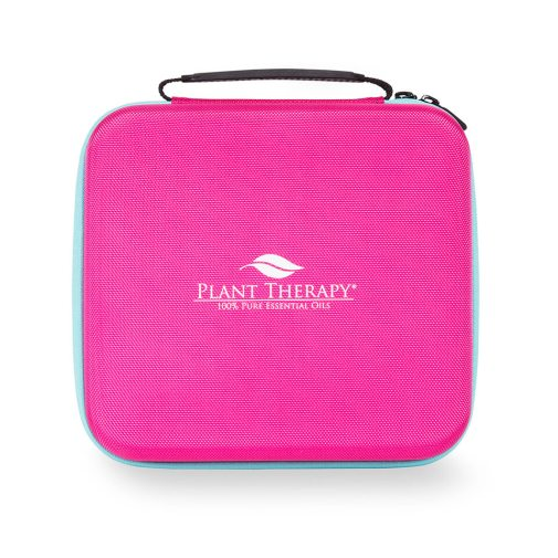 Hard-Top Carrying Case - Large Pink & Teal