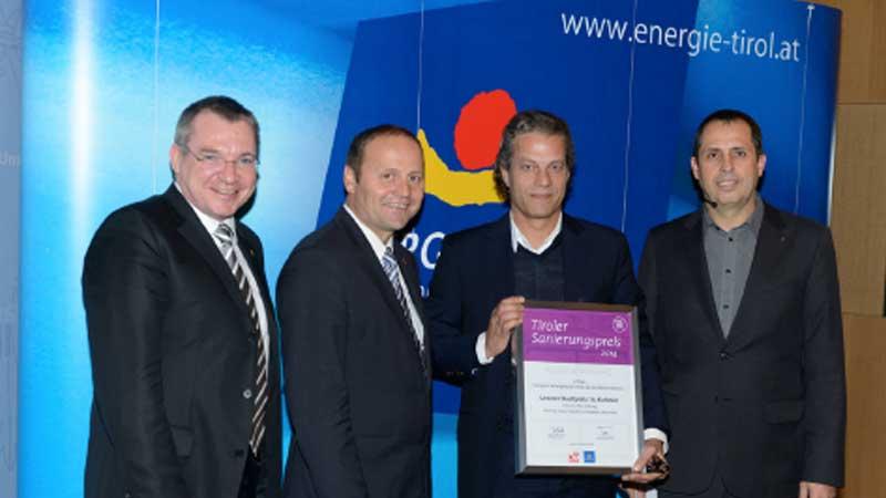 Preis: November 2014 US16 - Tiroler Sanierungspreis 2014 für den Wohnungsbau