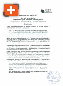Resolución que declara que Empagran no es deudora de Filabanco, por haber pagado a sus ex accionistas la obligación.