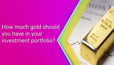 How much gold in investment portfolio to protect against market crash like 2008?
