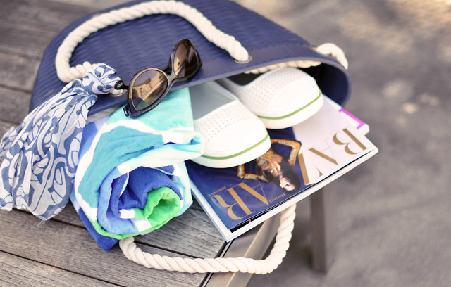 Creating The Perfect Beach Bag And Other Beach Hacks