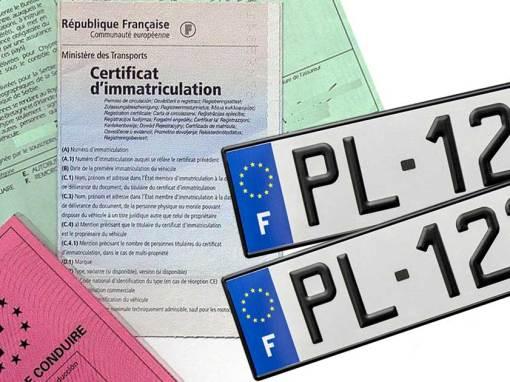 Certificat d'immatriculation provisoire