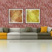 Plaqueta Semimanual Roja Rústica 22×6,5×1,5cm Refrentada 3