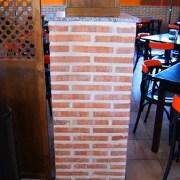 Plaqueta Semimanual Cuero Rústica 24x4x1,5cm 3