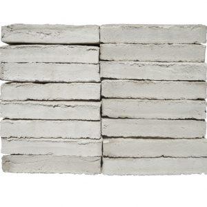 Plaqueta Manual Blanco Marfil 24x4x1,5cm