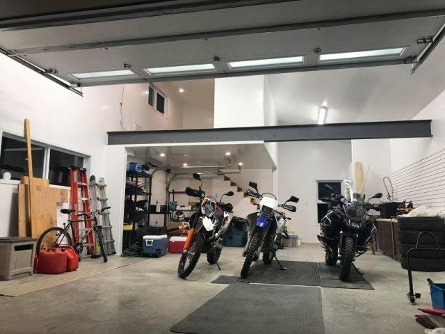 Panneau de PVC Trusscore pour garage