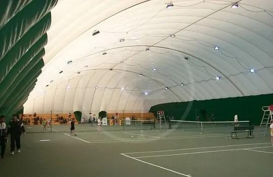 Copertura campo da tennis