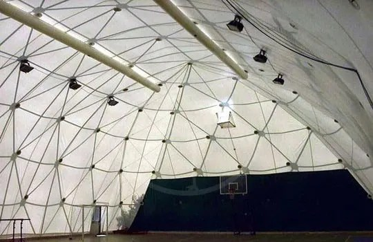 Geodesic structure membrane - Pesaro ( Italy )