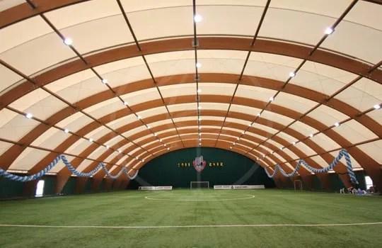 BSH-Konstruktion für Fußballfeld