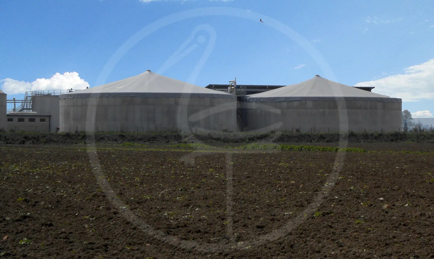 Covering for Biogas
