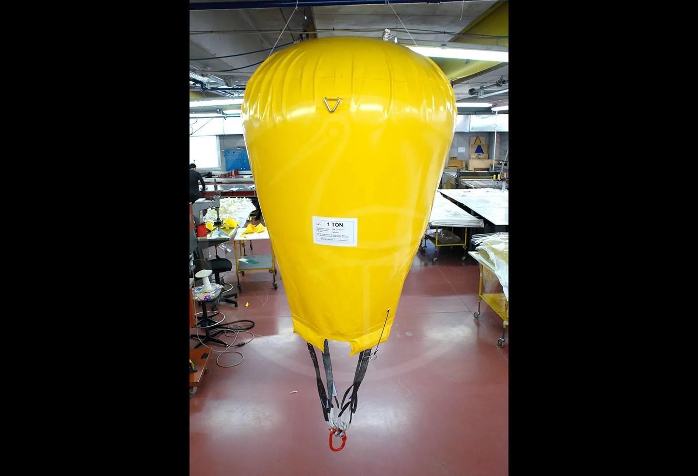 1 ton parachute lift balloon