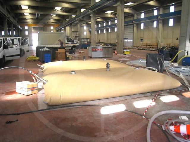 serbatoi flessibili da-7500 lt per acqua potabile