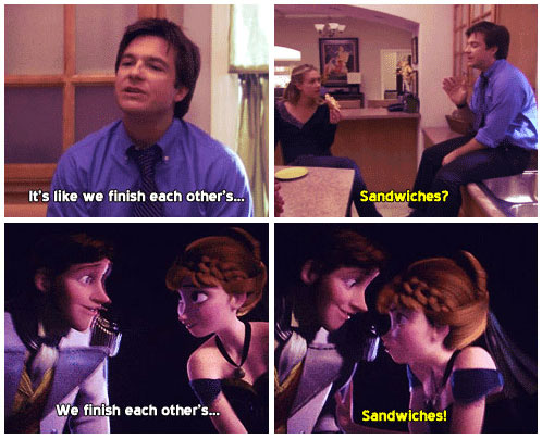 Arrested Development and Frozen
