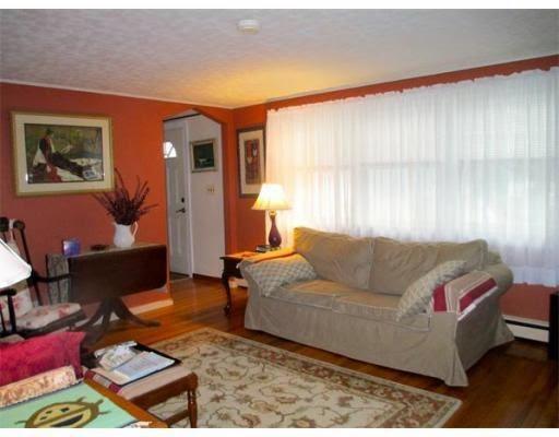 Living room before -- Plaster & Disaster