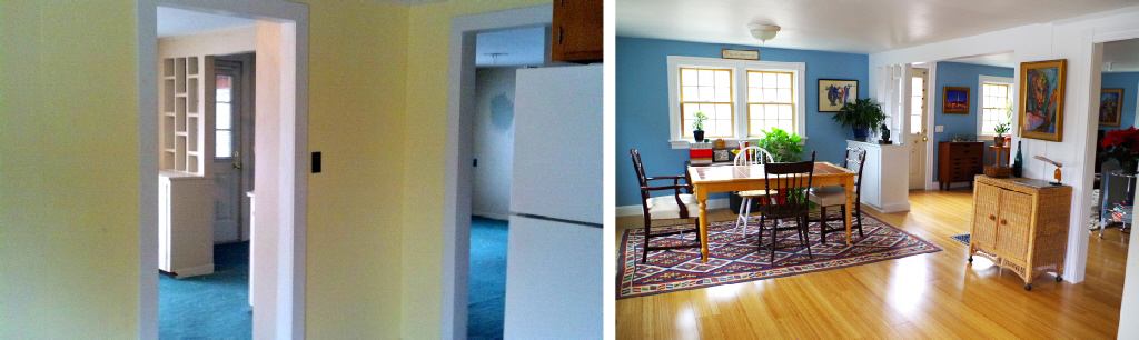 Picking a Dining Room Chandelier - Renovation Before and After - Plaster & Disaster