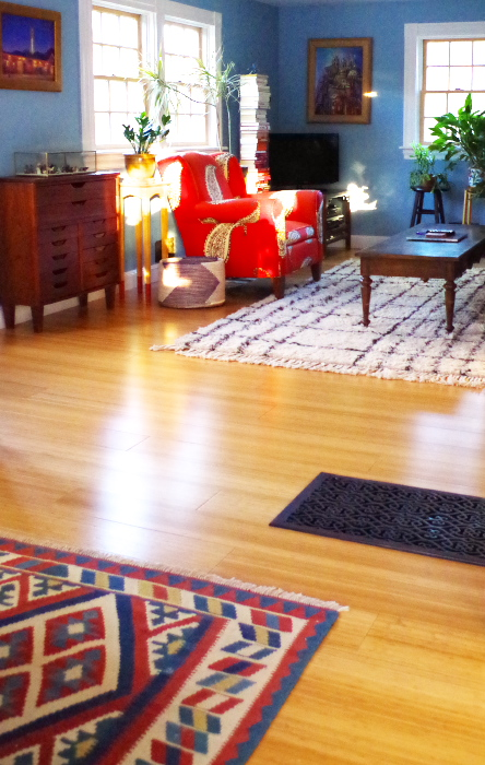 Pros and Cons of Bamboo Floors - Open Concept - Plaster & Disaster