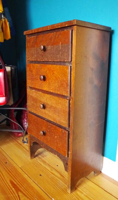 Furniture Makeover - Before Finish - Plaster & Disaster
