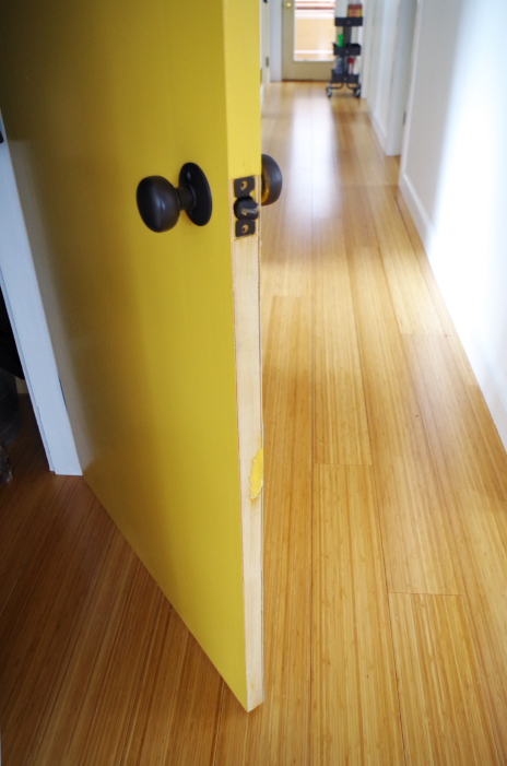 What not to do when painting doors and hardware - not plane doors enough before painting & What NOT To Do When Painting Doors and Hardware \u2013 Plaster \u0026 Disaster