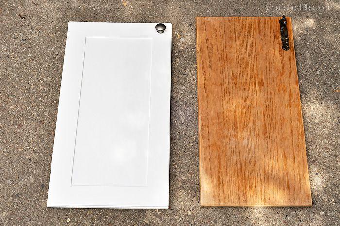 DIY shaker style doors -- Plaster & Disaster
