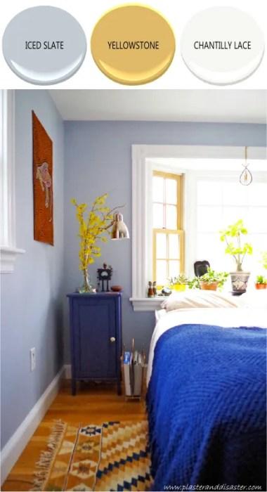 Home color palette - bedroom - Plaster & Disaster