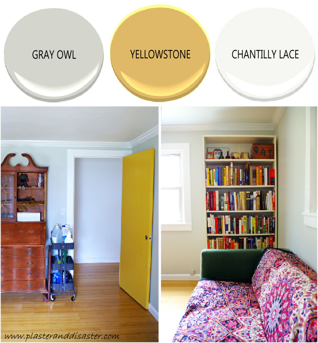 Home color palette - the library - Plaster & Disaster