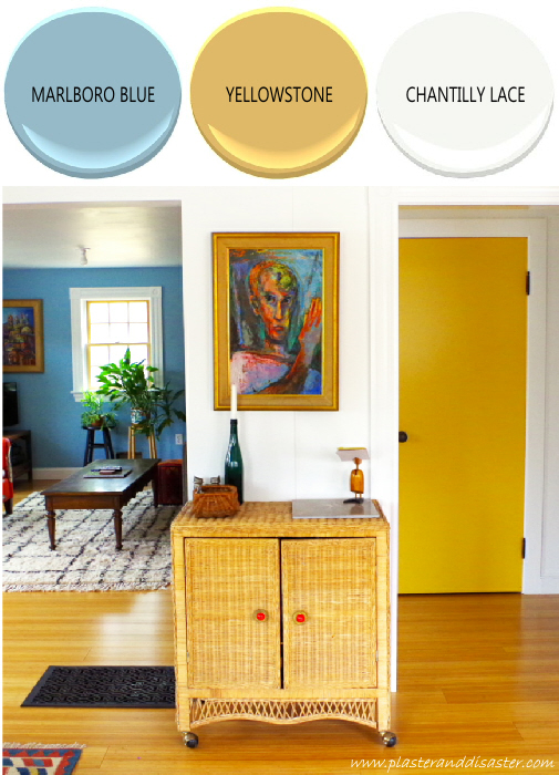 Home color palette - the living areas - Plaster & Disaster