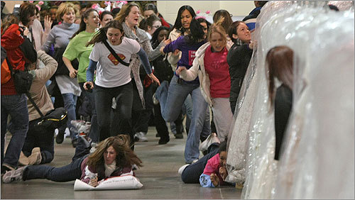 Running of the brides -- Plaster & Disaster