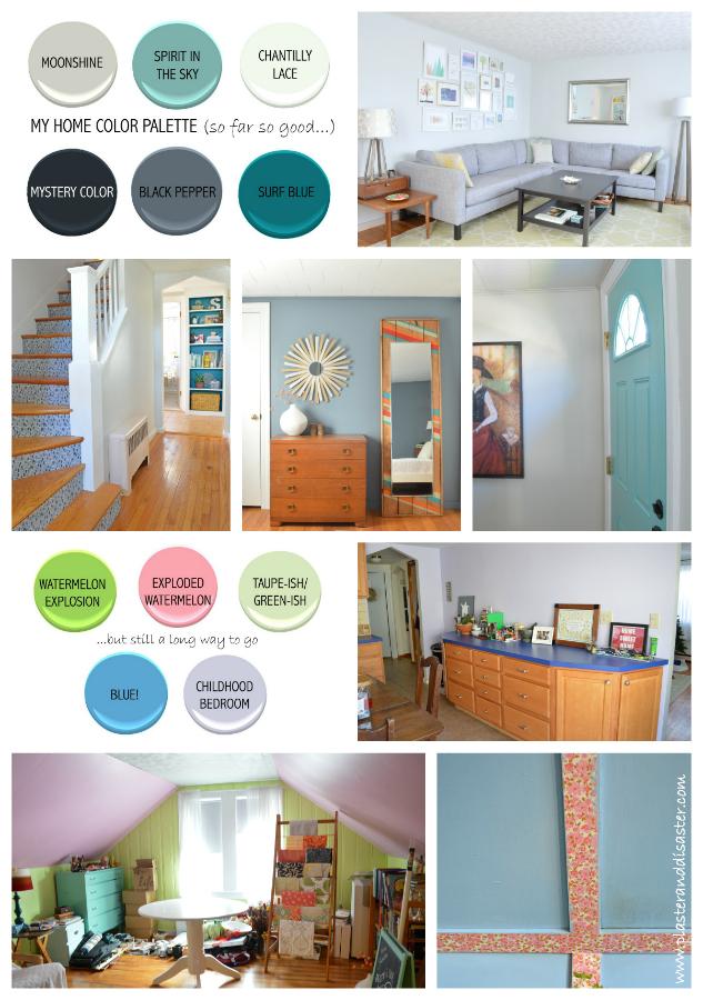 Home Color Palette more purple than i'd like (sage's home color palette) – plaster