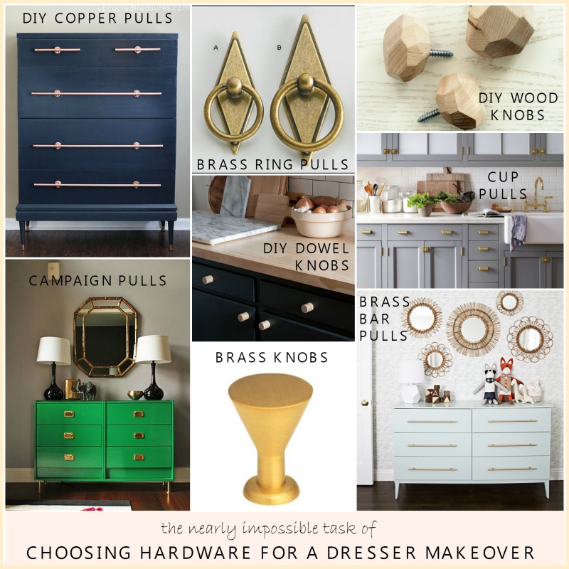 Choosing dresser hardware -- Plaster & Disaster