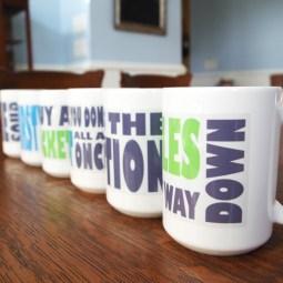 Custom punchline mugs - featured - Plaster & Disaster
