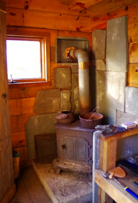 Disaster confessional - sauna wood burning stove - Plaster & Disaster