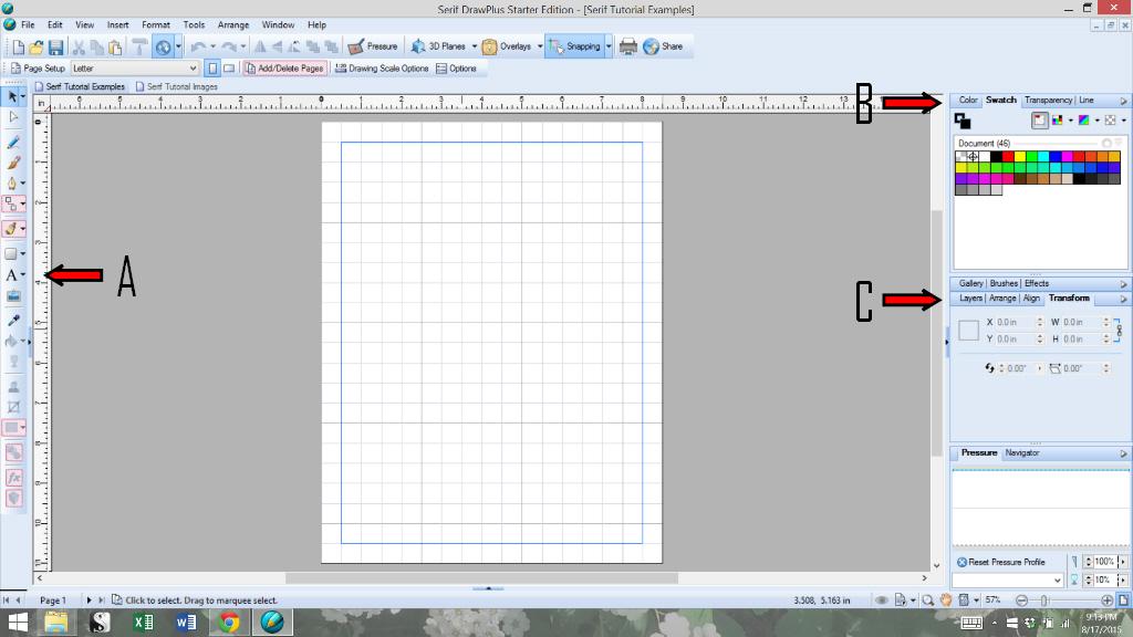How I Use Serif Drawplus For Blogging The Basics Plaster Disaster