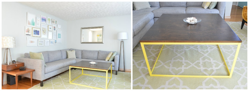 diy modern metal coffee table (aka the time i attempted to build