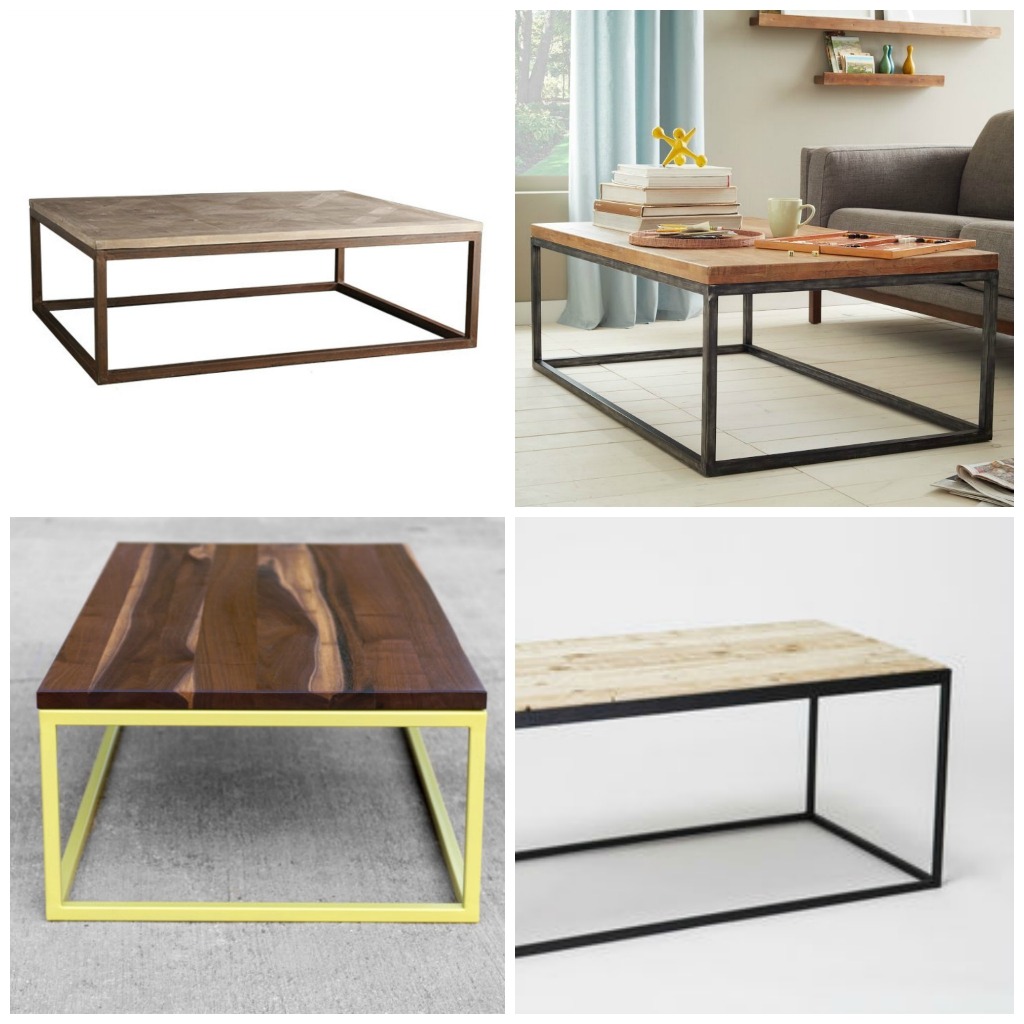 Diy Modern Metal Coffee Table Aka The Time I Attempted To Build