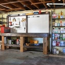 Creating a basement workshop -- Plaster & Disaster