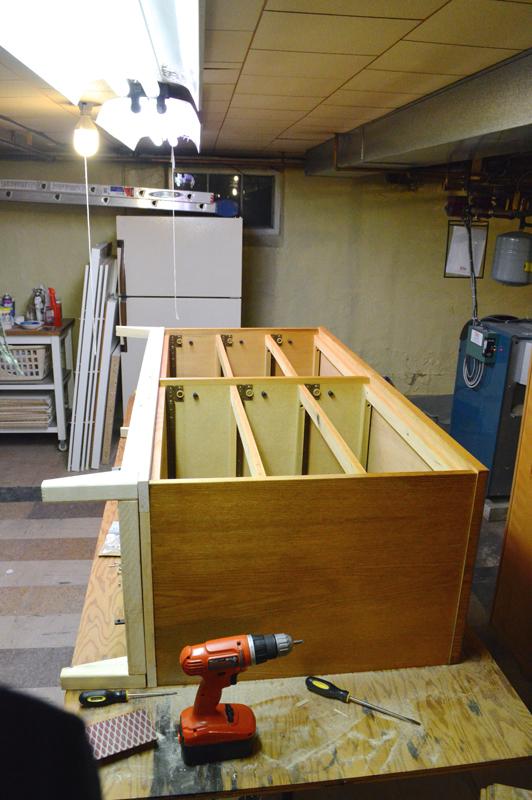 Building a mid-century dresser -- Plaster & Disaster