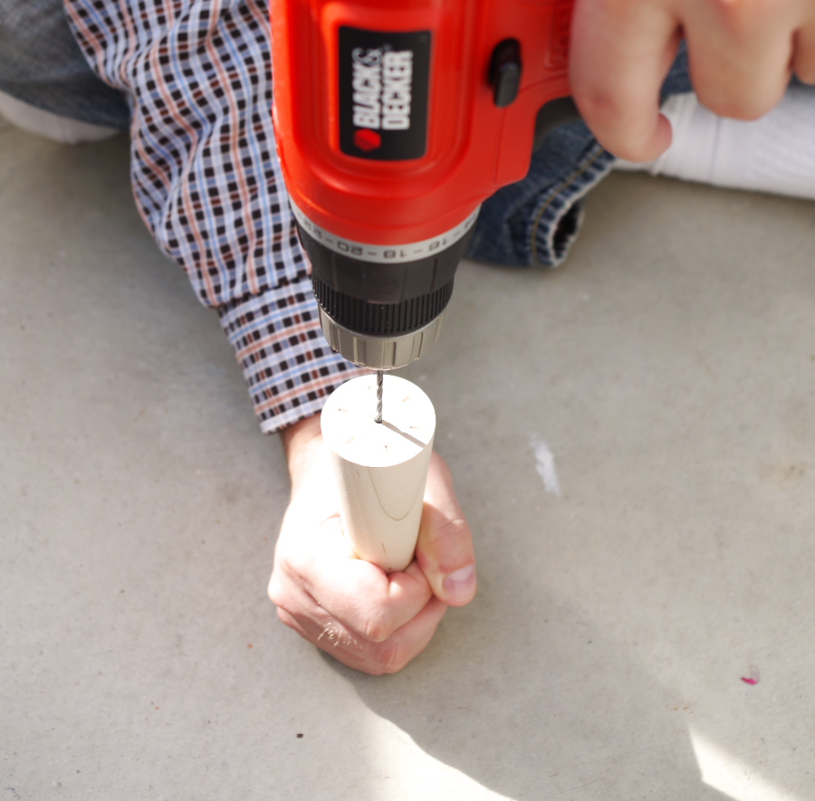 How to install a hanger bolt - make your own furniture legs! - Plaster & Disaster