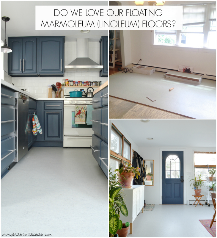 Marmoleum Floors Plaster Disaster