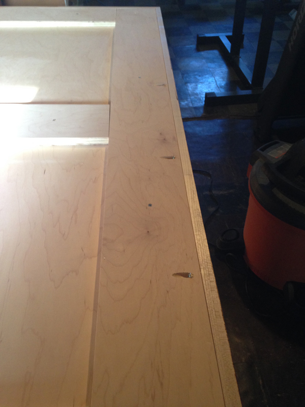 DIY hairpin leg dining table -- Plaster & Disaster