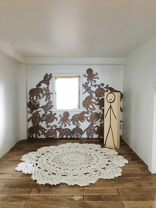 Animal statement wall -- Plaster & Disaster