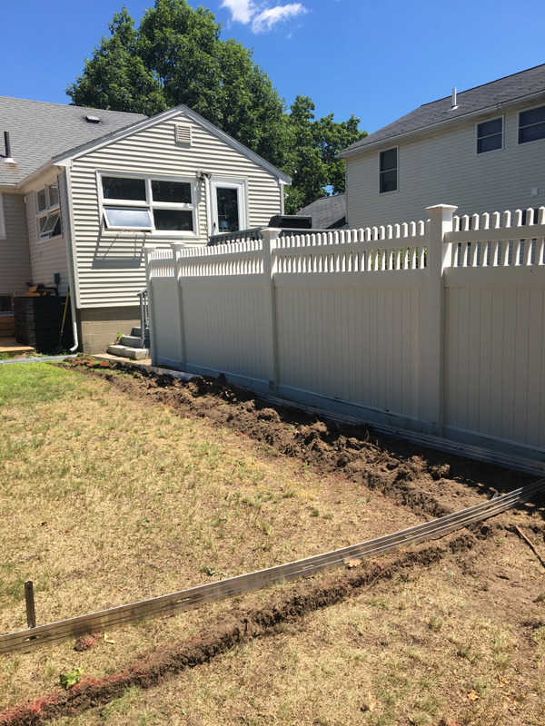 Lawn edging -- Plaster & Disaster