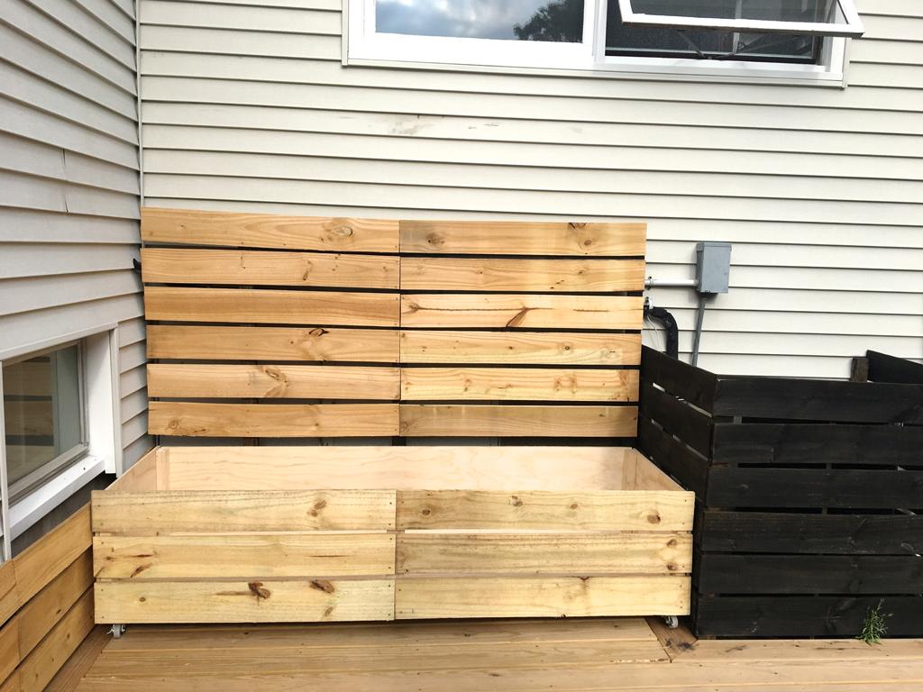 DIY large planter -- Plaster & DIsaster