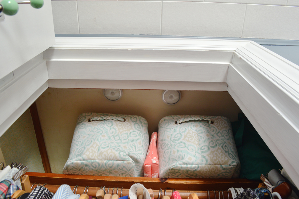 Maximizing a small closet -- Plaster & Disaster