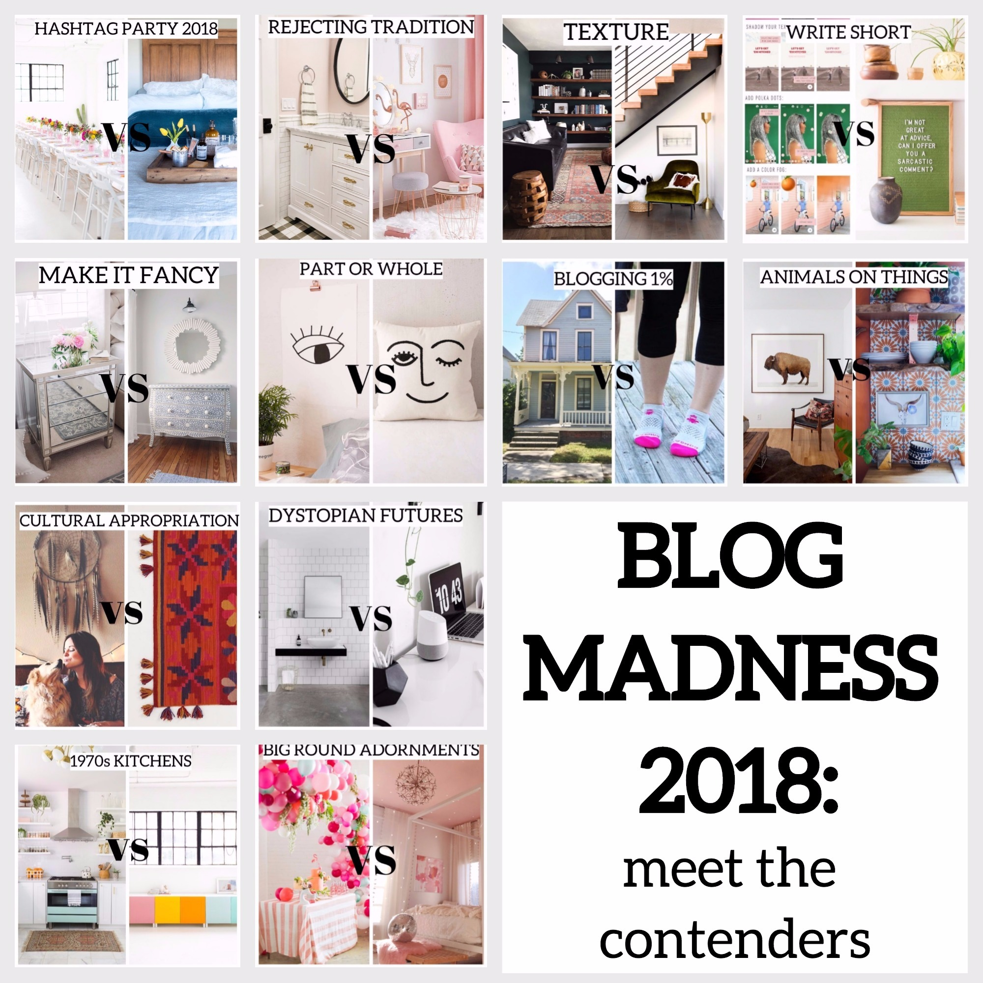 blog madness intro -- Plaster & Disaster