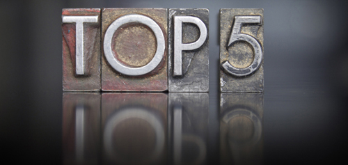 Top 5 Featured Image