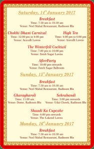 Udaipur wedding key card for hotel room